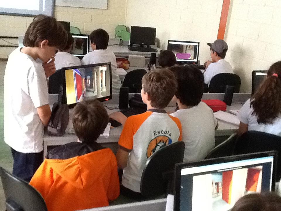 Aplicação piloto do DOMUS em Escola de Santo André