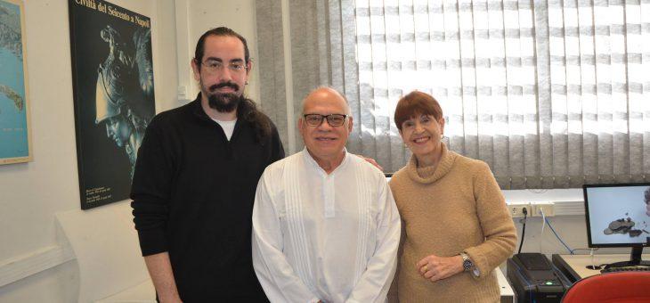 Visita do Prof. Dr. Manuel Gándara Vázquez (ENCRyM) ao LARP