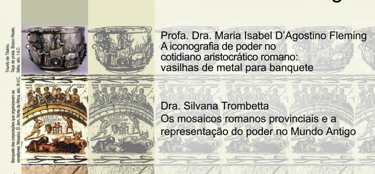 """VIII Ciclo de Debates do LARP – """"Símbolos, Imagens e Poder: trocas imagéticas no Mundo Antigo"""""""